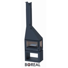 Boreal CH4000ED - krbová kamna rohová pravá
