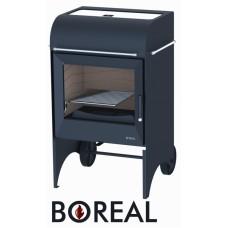 Boreal E6000 - kamna krbová a zahradní gril
