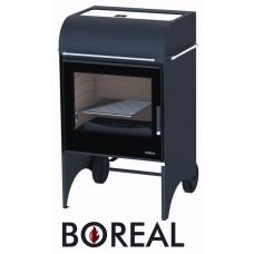 Boreal E6000S - kamna krbová a zahradní gril
